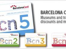Барселона карты